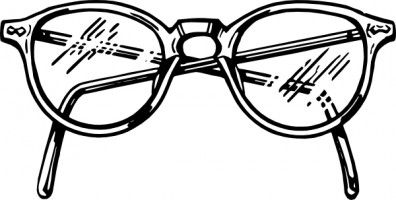 Glasses black and white clipart image transparent Clip art eye glasses Free vector for free download about (17) Free ... image transparent