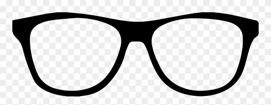 Glasses clipart graphic freeuse Sunglasses Clipart Outline - Glasses Clipart - Png Download (#46483 ... graphic freeuse