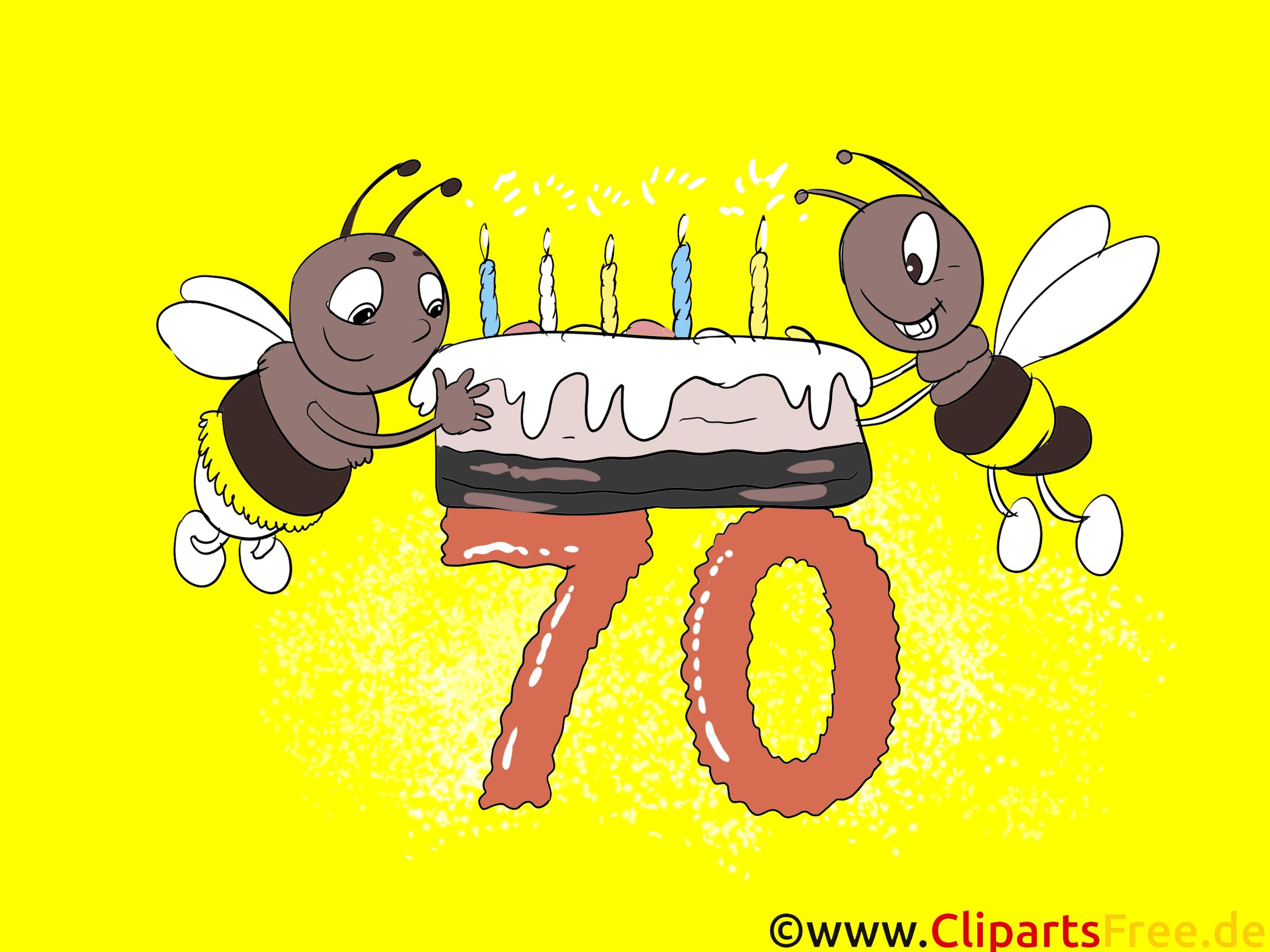 Glckwnsche zum geburtstag clipart picture transparent library Geburtstagskarten - Glückwünsche selbst gestalten zum 70 Geburtstag picture transparent library