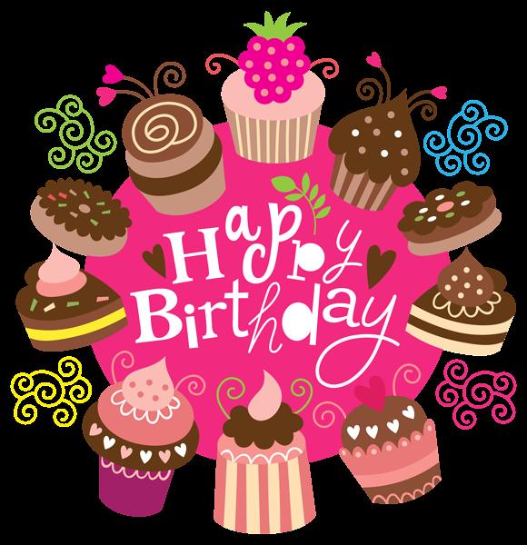 Glckwnsche zum geburtstag clipart vector royalty free library Happy Birthday Clipart with Cakes Image   Geburtstag   Pinterest ... vector royalty free library