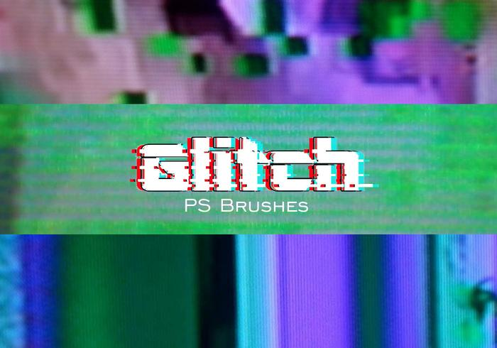 20 Glitch Texture PS Brushes.abr vol.1 - Free Photoshop Brushes at ... picture library stock