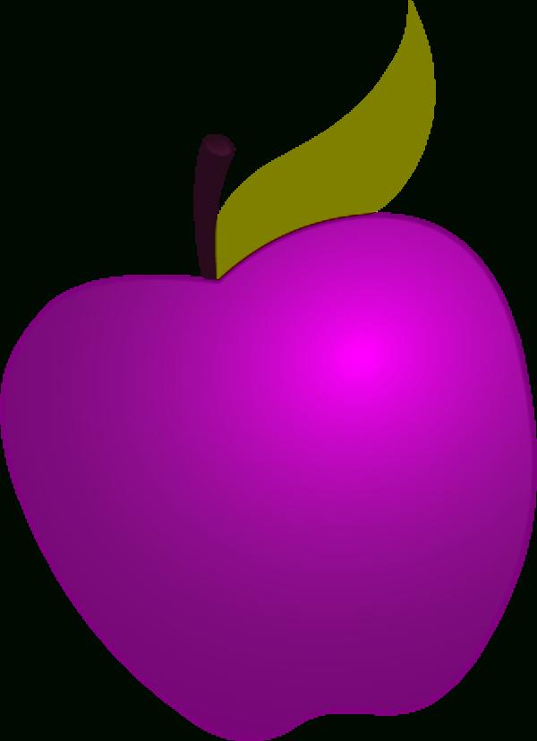 Glitter apple clipart free download Purple Apple Clipart | Letters Format free download