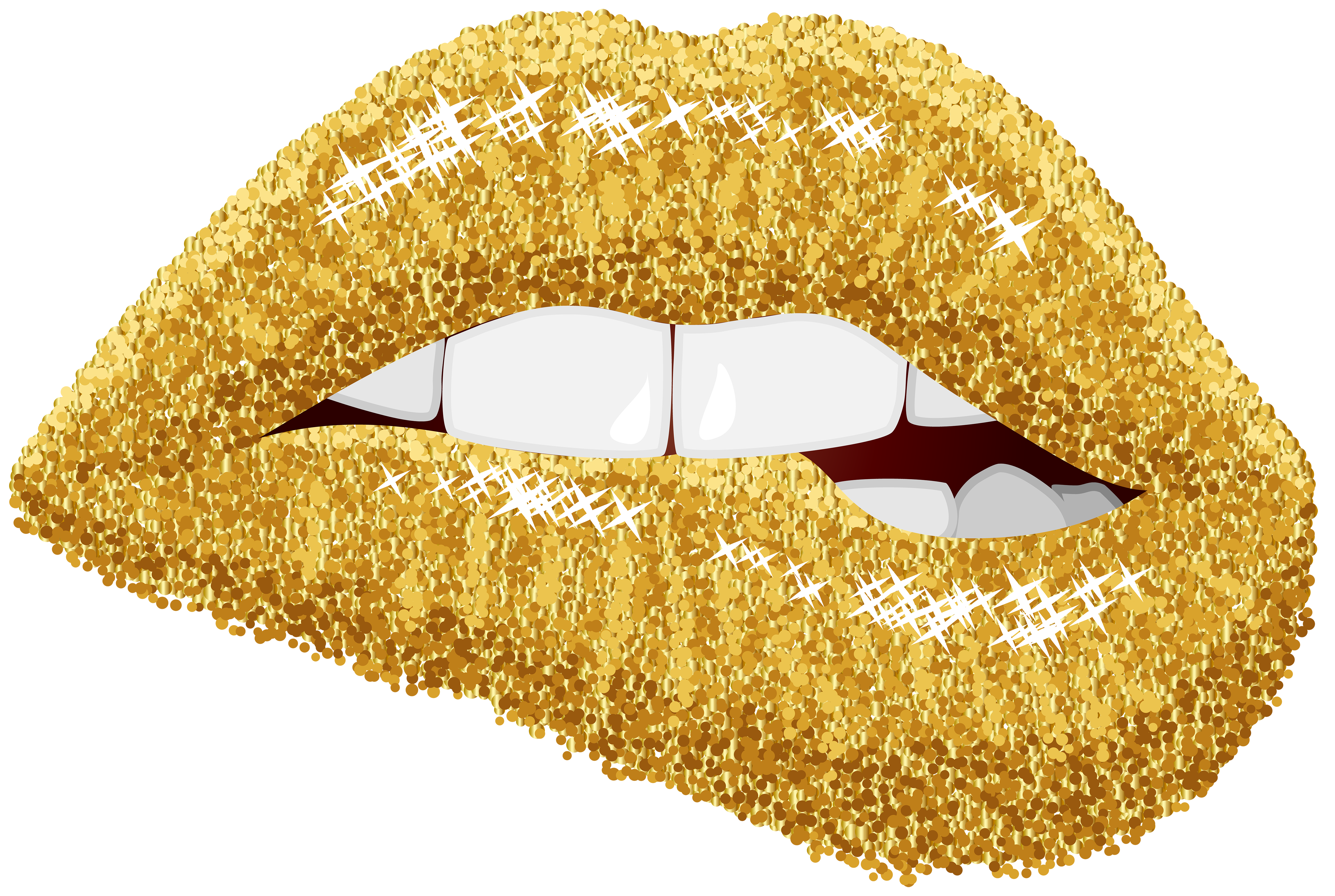 Glitter apple clipart svg black and white library Lip Gold Clip art - lips 5000*3357 transprent Png Free Download ... svg black and white library