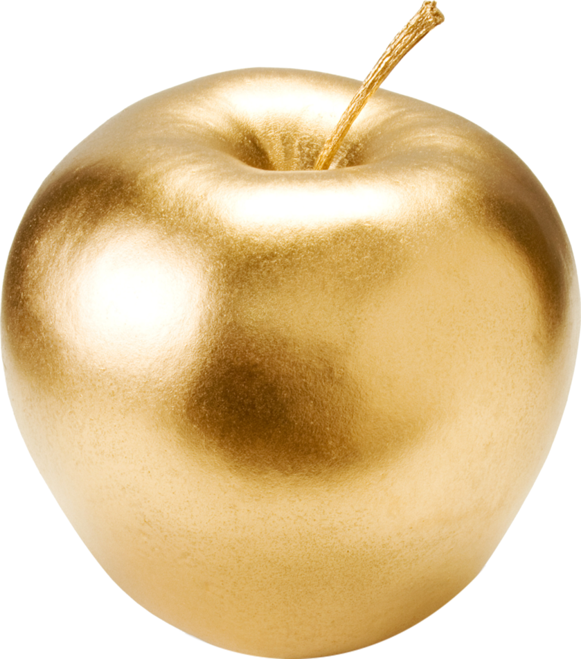 Glitter apple clipart clip transparent gold apple by lenkinrom on DeviantArt clip transparent