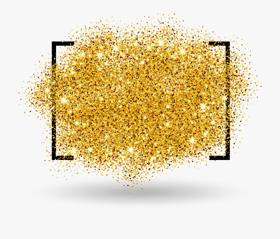 Glitter clipart free graphic library Golden Border Gold Free Transparent Image Hd - Glitter Gold ... graphic library