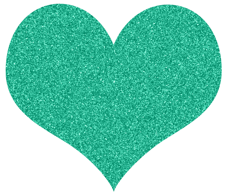 Turquoise heart clipart png freeuse Free Glitter Hearts Clipart Karen Cookie Jar T1Y9tE Clipart png freeuse