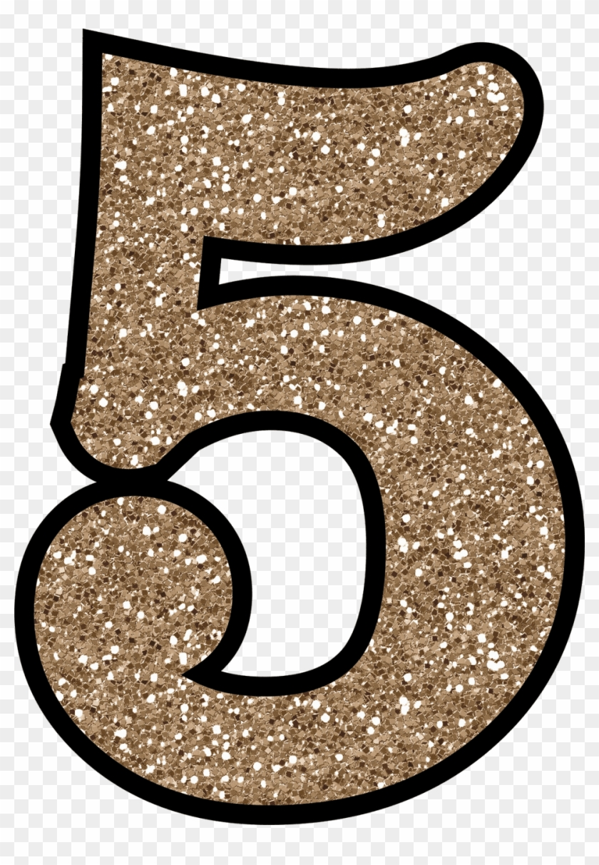Glitter numbers clipart free download 5 Glitter Numbers - Glitter Number 5, HD Png Download (#121683 ... free download