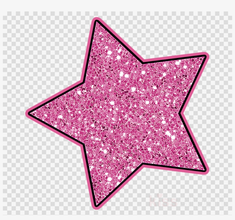 Glitter stars clipart image royalty free stock Pink Glitter Star Png Clipart Star Polygons In Art - Glitter Stars ... image royalty free stock