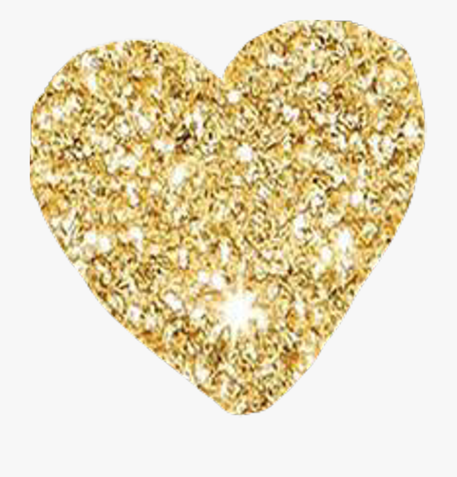 Glittery gold heart clipart jpg black and white library Sparkle Clipart Gold Glitter - Gold Glitter Heart Clipart #478823 ... jpg black and white library