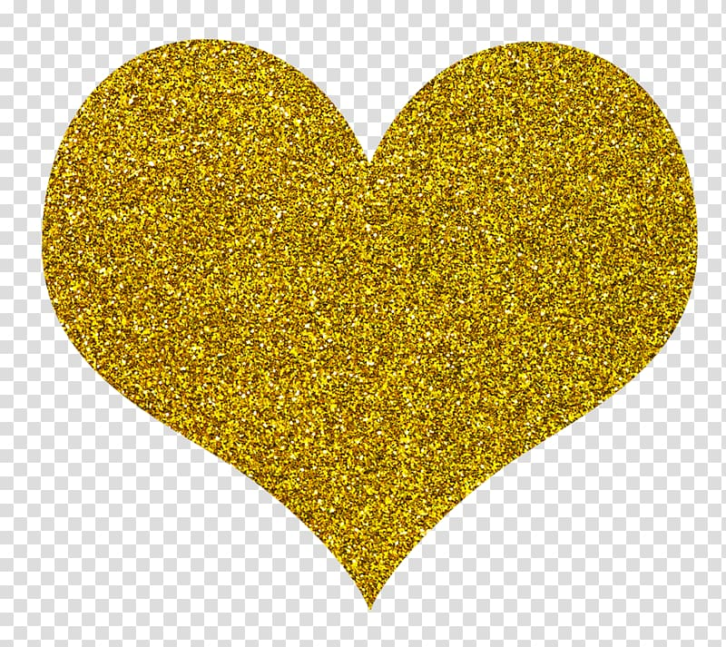Glittery gold heart clipart clipart royalty free stock Heart-shaped glittered illustration, Goldpreis Glitter, gold heart ... clipart royalty free stock