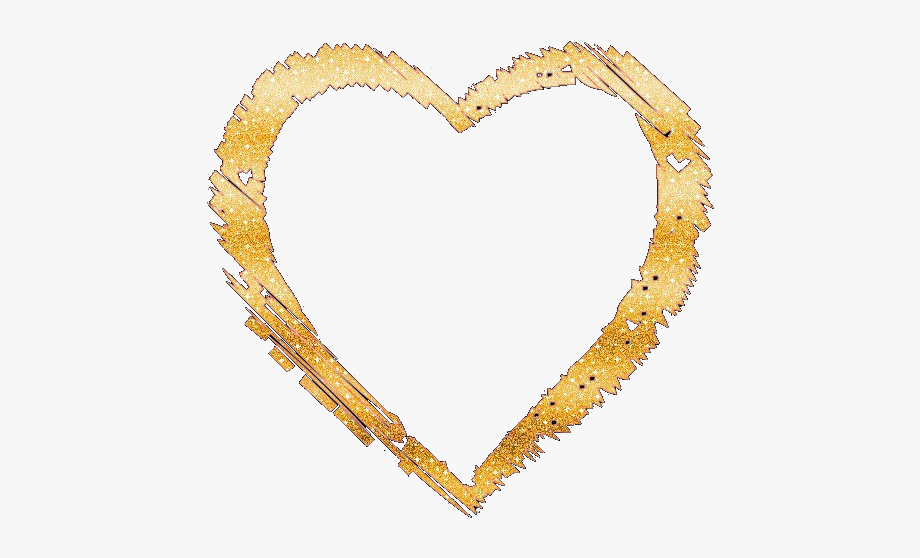 Glittery gold heart clipart graphic library stock Glitter Heart Png - Gold Glitter Heart Png #175673 - Free Cliparts ... graphic library stock