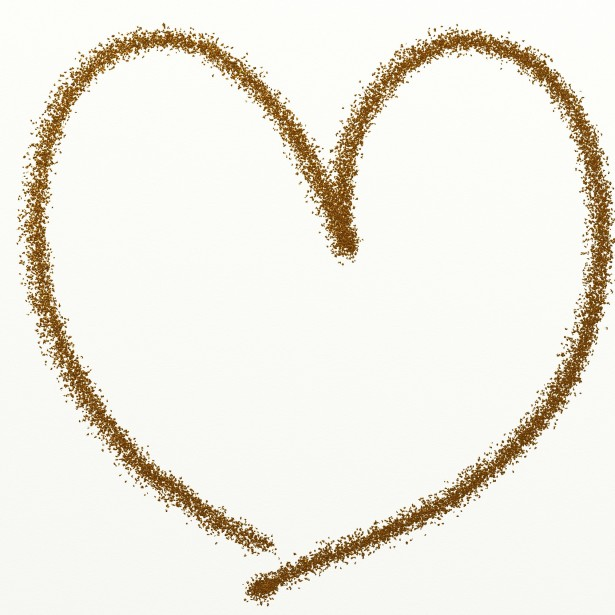 Glittery gold heart clipart png free download Gold Glitter Heart Clipart Free Stock Photo - Public Domain Pictures png free download