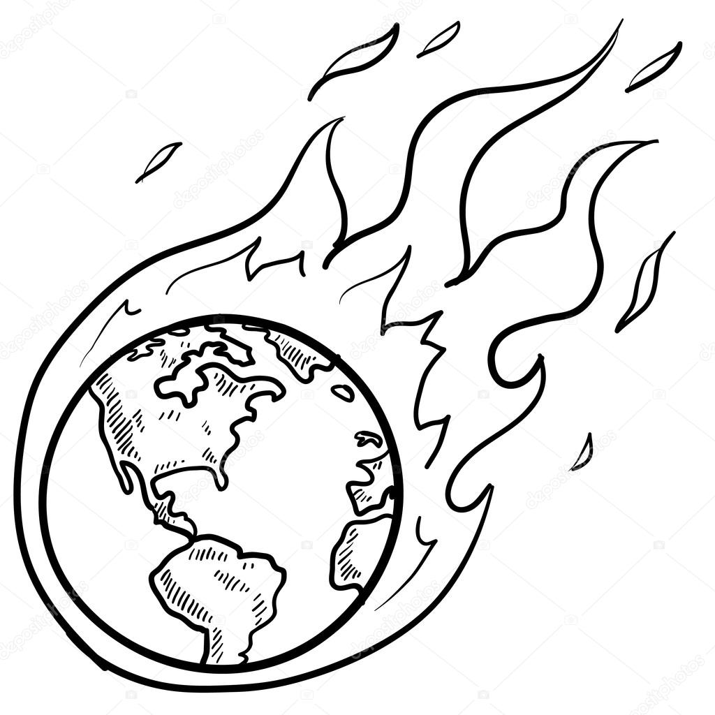 Global warming clipart black and white vector royalty free library Global warming clipart black and white 13 » Clipart Station vector royalty free library