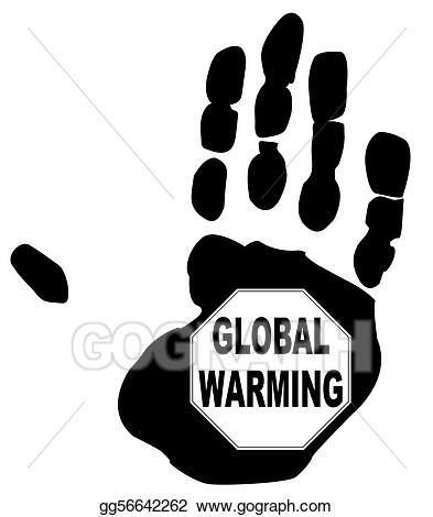 Global warming clipart black and white png library download Stock Illustrations - Stop global warming. Stock Clipart gg56642262 ... png library download