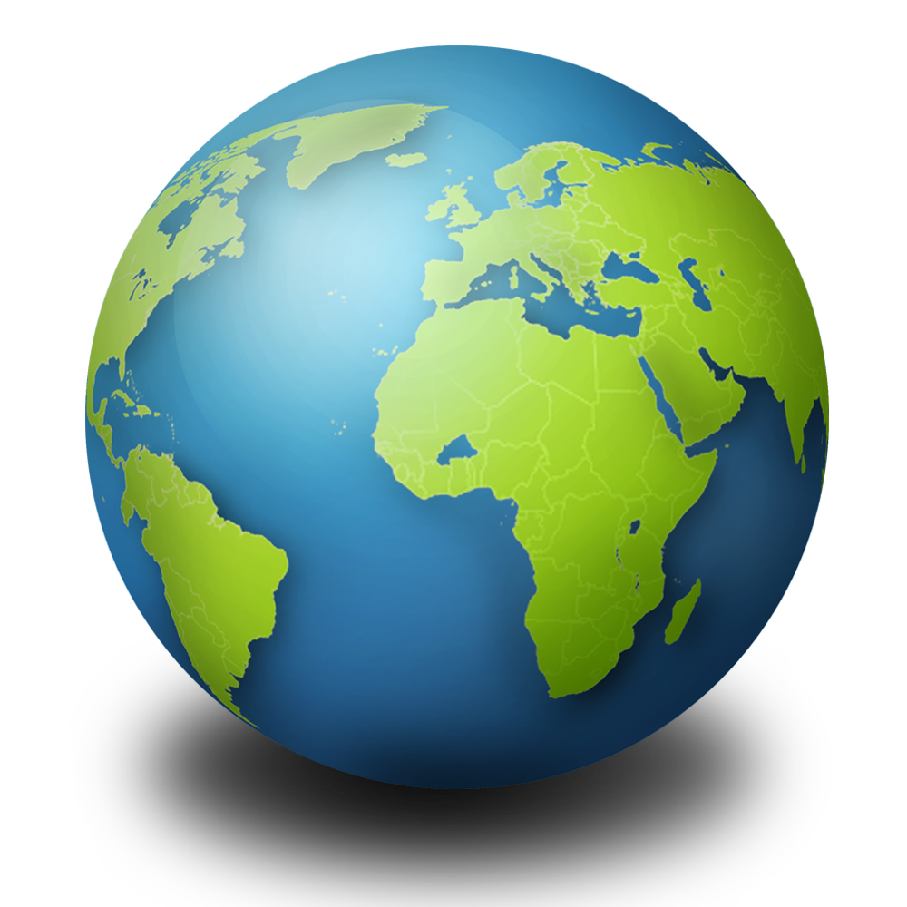 Globe apple clipart jpg library Globe PNG Clipart | Web Icons PNG jpg library