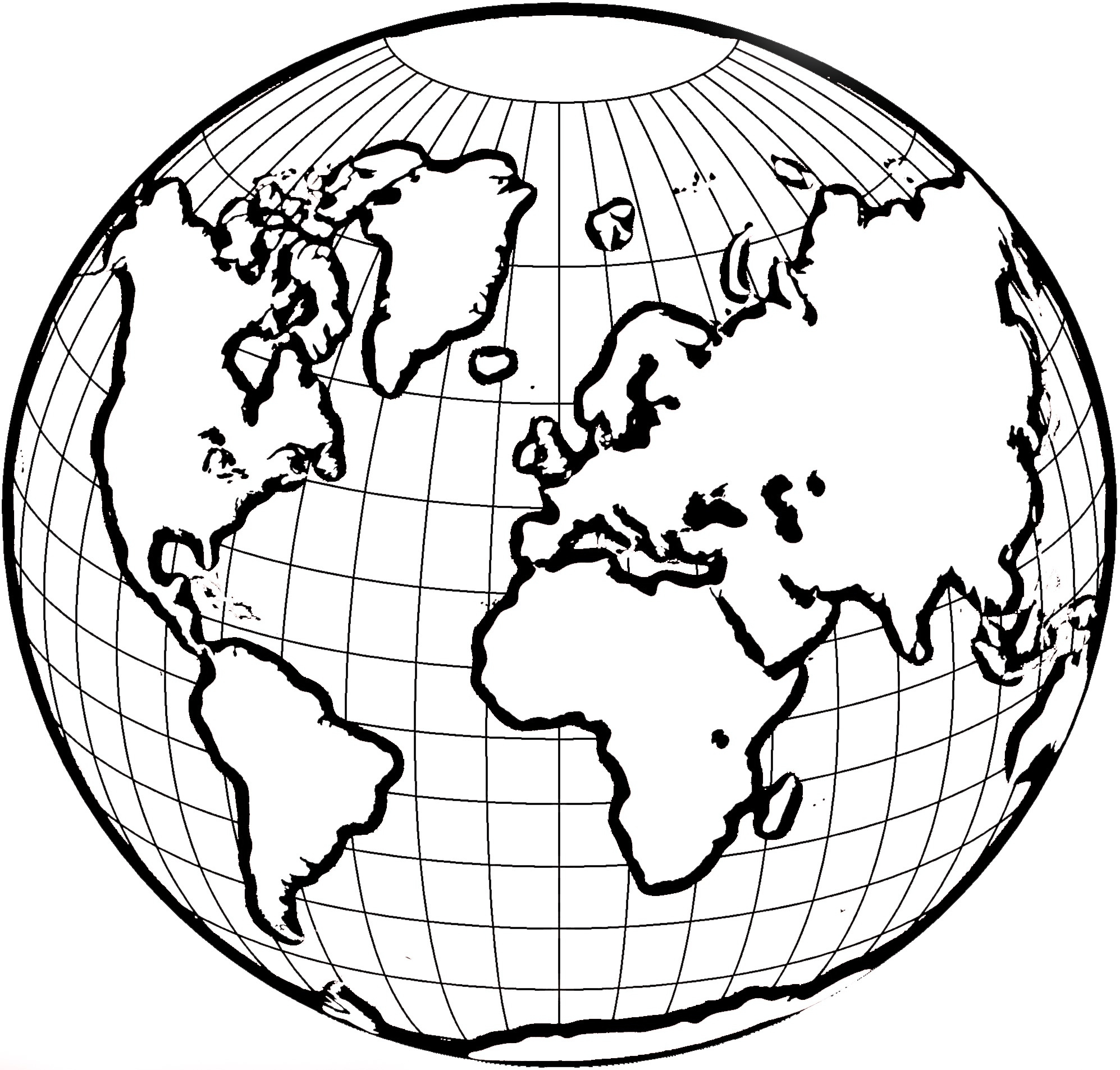 Globe clipart black and white image black and white download Globe clipart black and white for kids letters example jpg - ClipartPost image black and white download