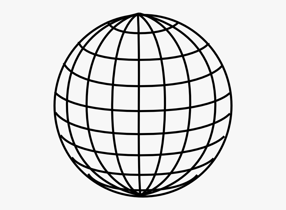 Globe clipart black and white clip black and white stock Grid Cliparts - Globe Clipart Black And White Png #452216 - Free ... clip black and white stock