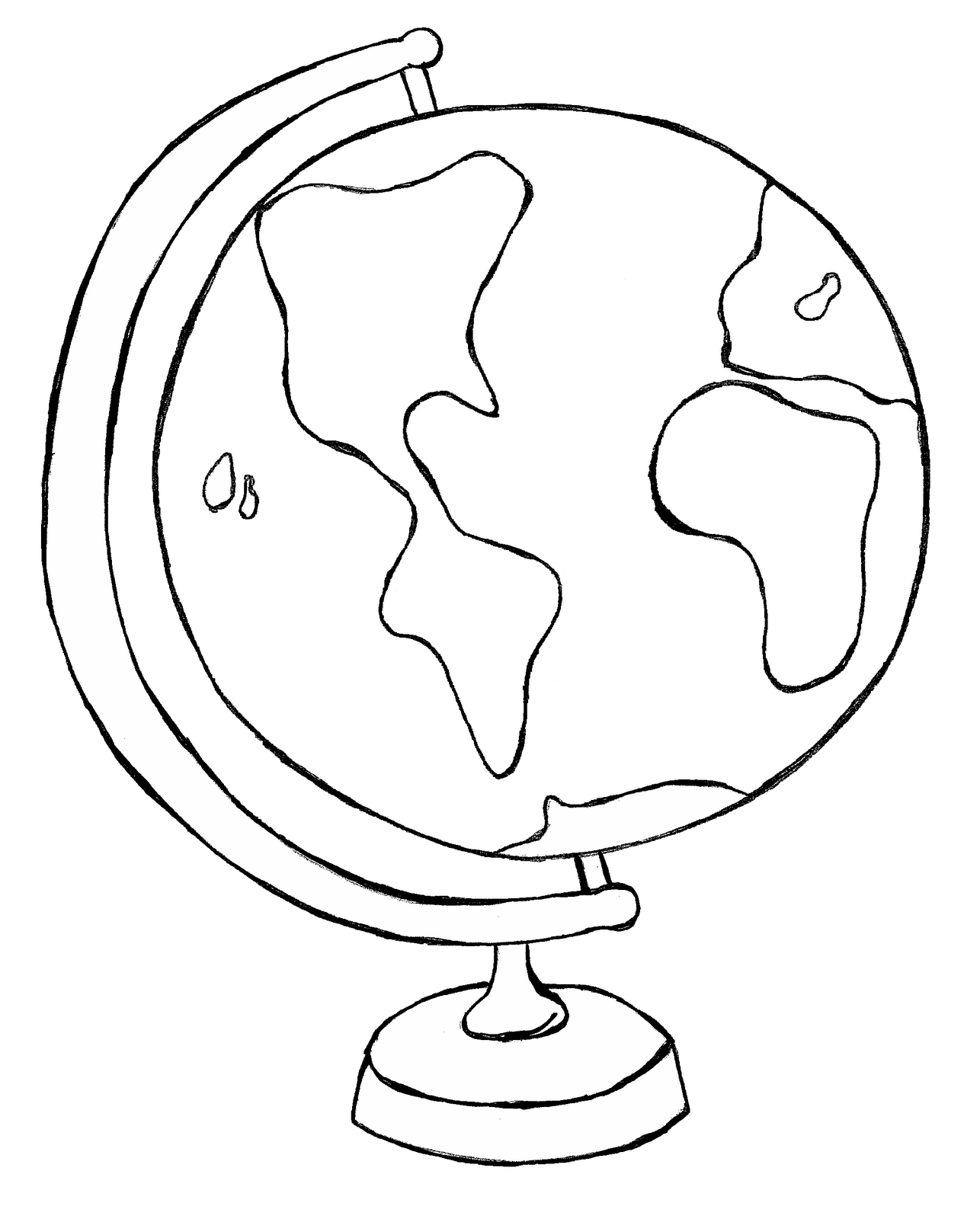 Globe clipart black and white clipart royalty free download Globe Clipart Black And White | Clipart Panda - Free Clipart Images clipart royalty free download