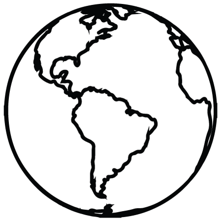 Globe clipart outline graphic stock Free Globe Outline Cliparts, Download Free Clip Art, Free Clip Art ... graphic stock