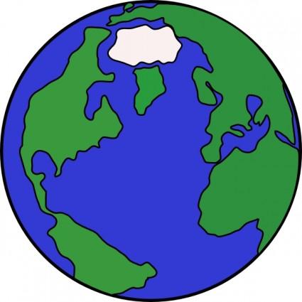 Globe map clipart clip art royalty free download World globe map clipart - ClipartFest clip art royalty free download