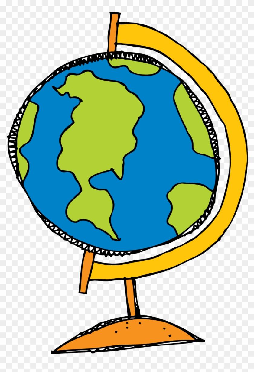 Globe telecom clipart svg black and white Globe Drawing Clip Art - Transparent Globe Clipart, HD Png Download ... svg black and white