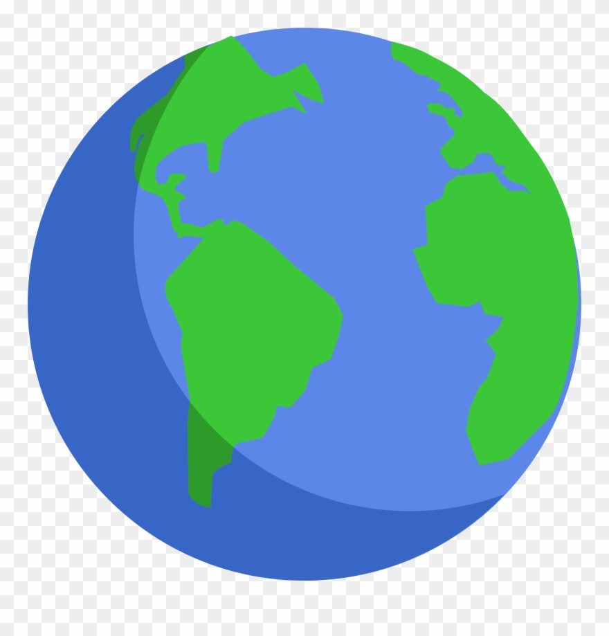 Globe vector clipart picture free library Creation Clipart Globe - Planet Earth Vector Png Transparent Png ... picture free library