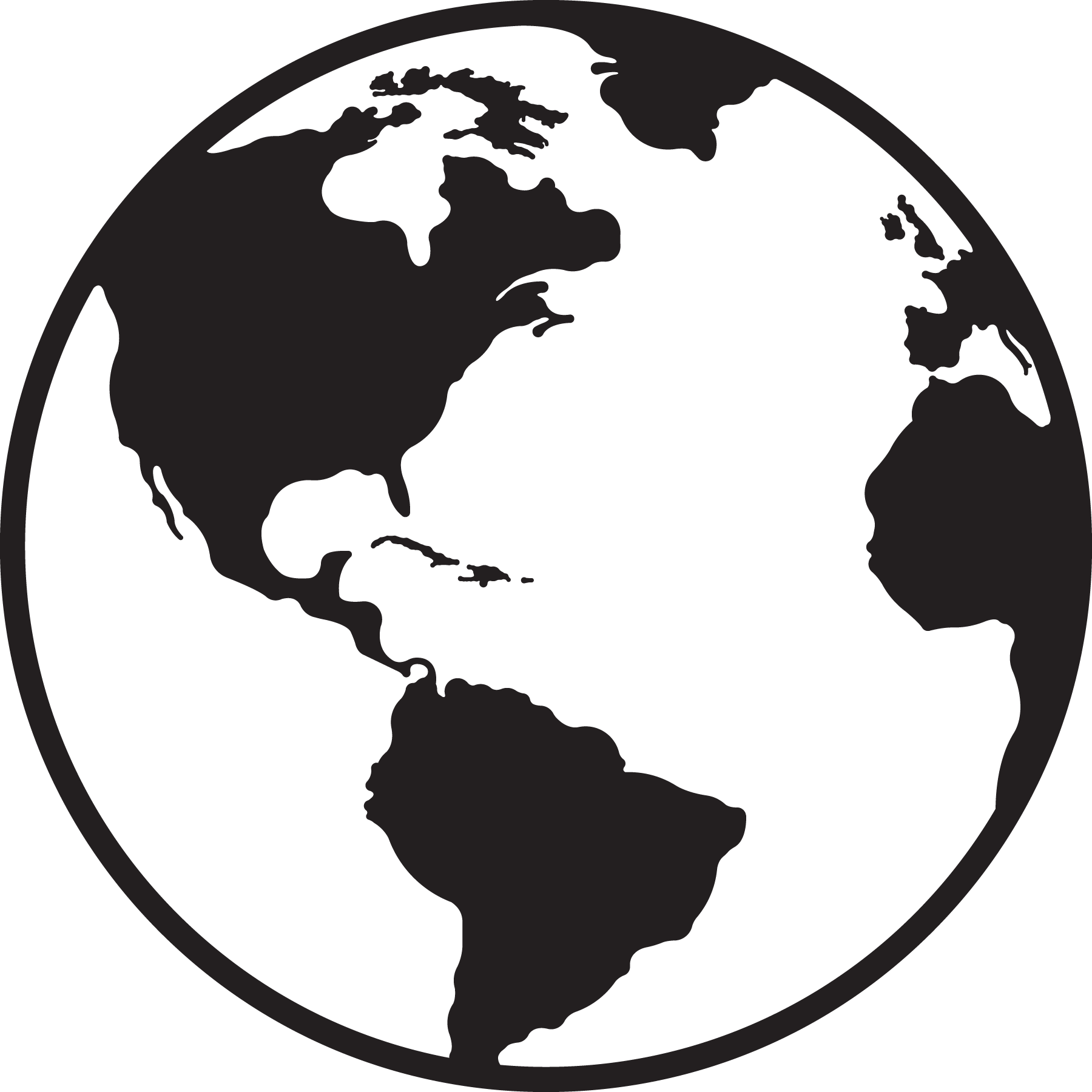 Globe vector clipart clipart stock Black and white globe clipart clipground – Gclipart.com clipart stock