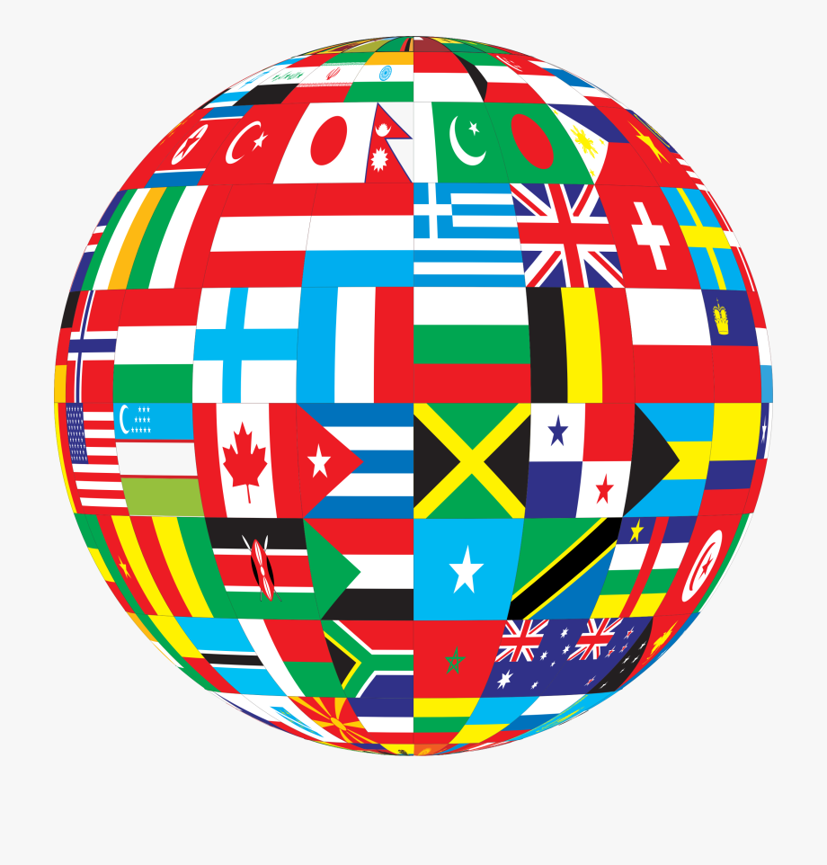 Globe with flags clipart image free stock Country Clipart World Leader - World Flags Globe Png #84086 - Free ... image free stock