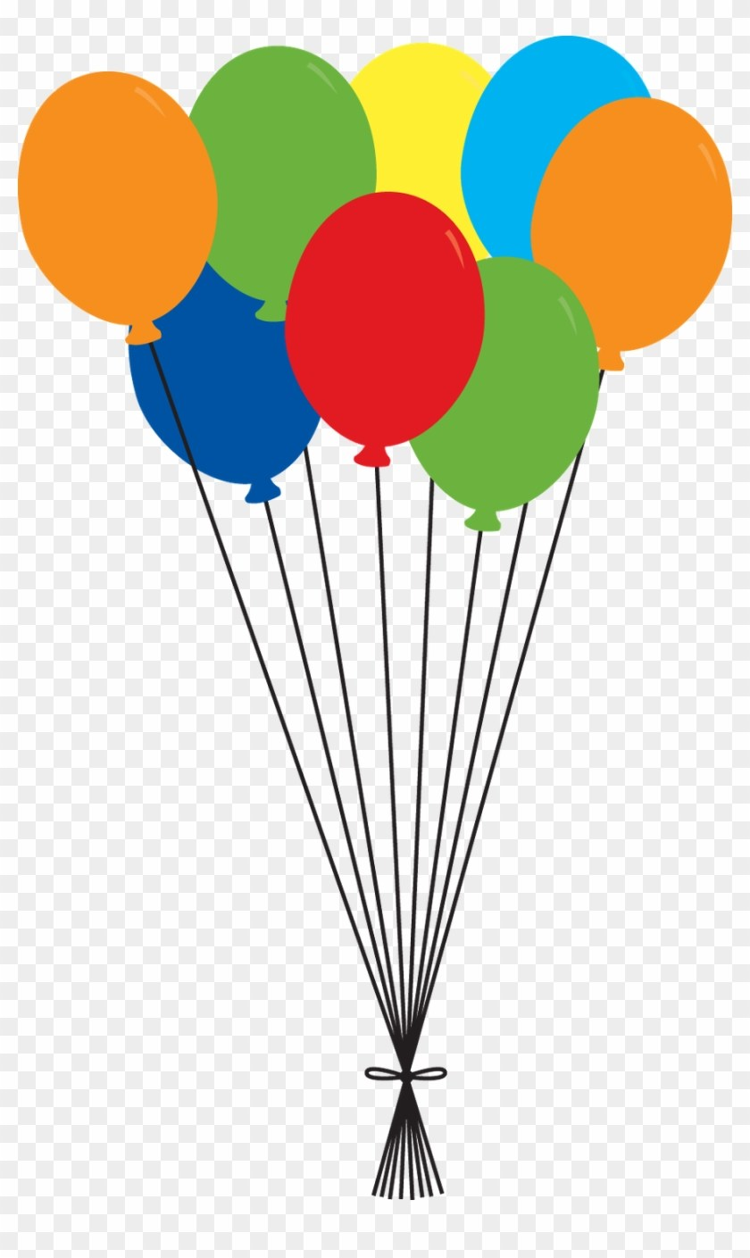 Globos clipart 5 » Clipart Portal picture black and white