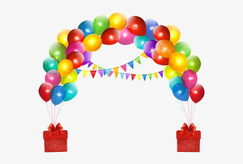 Globos de cumplea+-os clipart library Decorations Clipart Happy Birthday - Globos De Cumpleaños Png - Free ... library