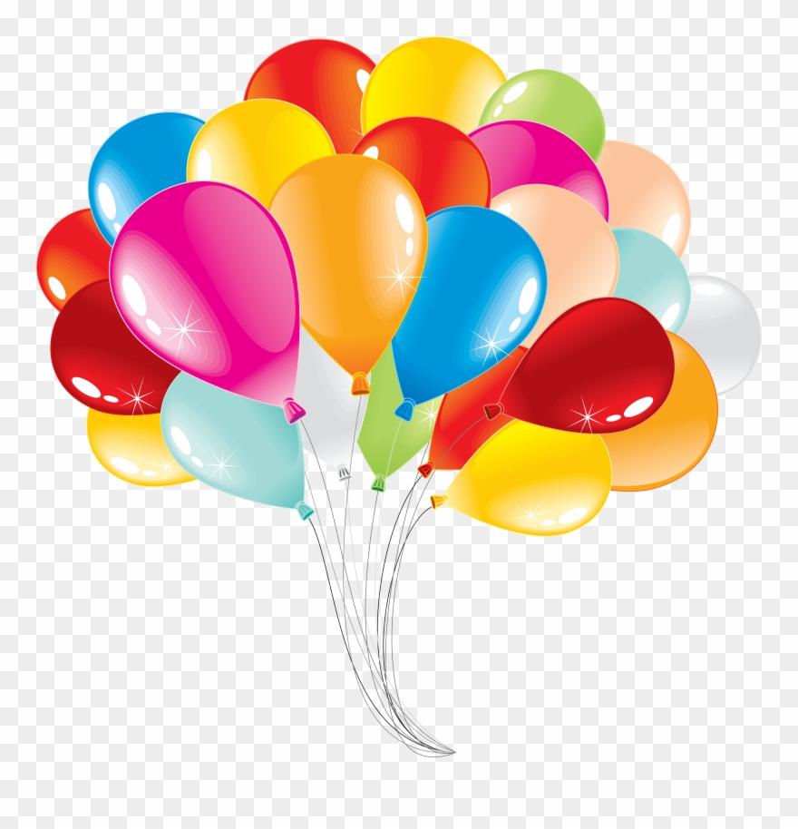 Globos de cumplea+-os clipart jpg library Picsart Bouquet De Globos Png Free Download - Clipart ิ Balloon ... jpg library