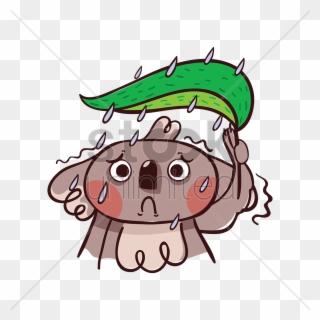 Gloomy clipart clip art transparent Gloomy Clipart Clip Art - Sad Koala Bear Cartoon - Png Download ... clip art transparent