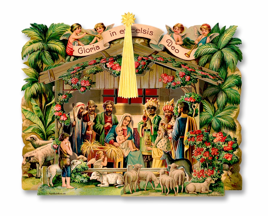 Gloria in excelsis deo clipart png Gloria In Excelsis Deo Manger Free PNG Images & Clipart Download ... png
