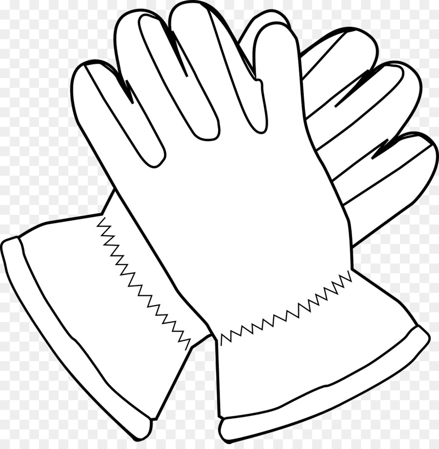 Glove clipart black and white picture download Baseball Glove clipart - White, Black, Hand, transparent clip art picture download