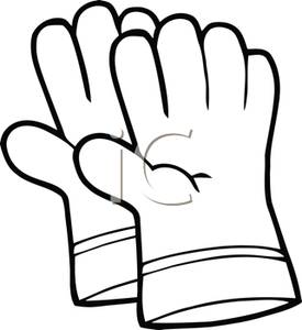 Glove clipart black and white banner library Gloves Clipart | Free download best Gloves Clipart on ClipArtMag.com banner library