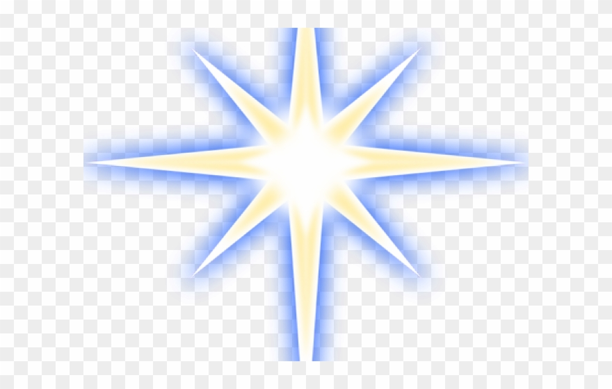 Glowing clipart picture free download Glow Clipart Star Nativity - Christmas Star Clipart - Png Download ... picture free download