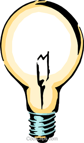 Glühbirne Vektor Clipart Bild -envi0102-CoolCLIPS.com clip royalty free library