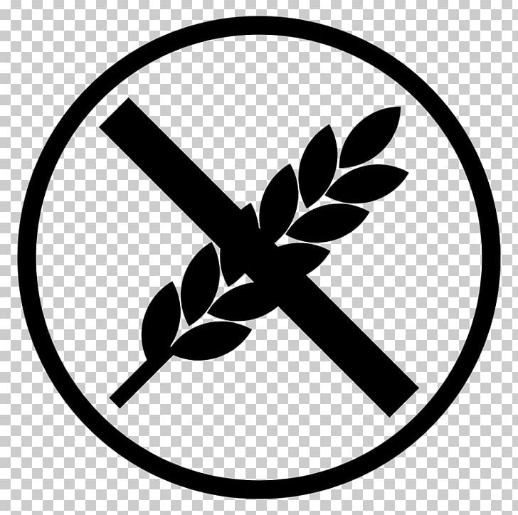 Gluten clipart png free library Gluten-free Diet Celiac Disease PNG, Clipart, Black And White ... png free library