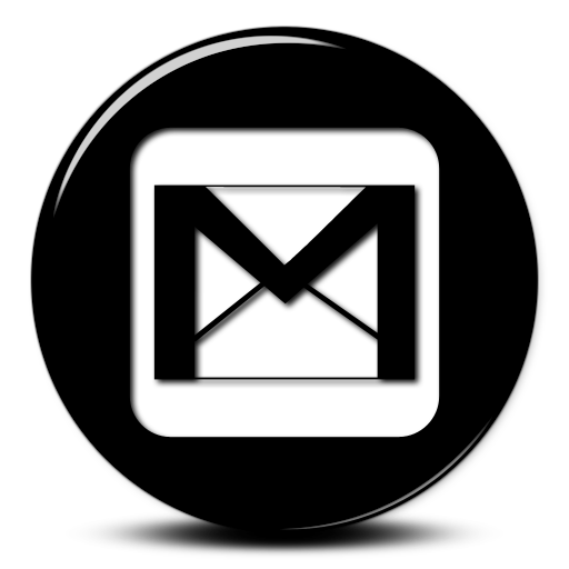Gmail icon clipart black and white clip royalty free stock Gmail Black And White Logo Png Images clip royalty free stock