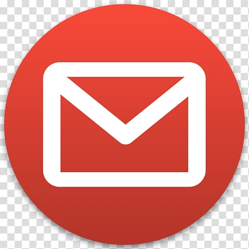 Gmail icon clipart transparent vector royalty free download Red and white mail logo illustration, Gmail Computer Icons Email ... vector royalty free download