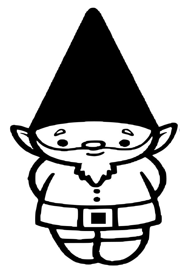 Gnome clipart black and white banner transparent Free Gnome Clipart, Download Free Clip Art, Free Clip Art on Clipart ... banner transparent