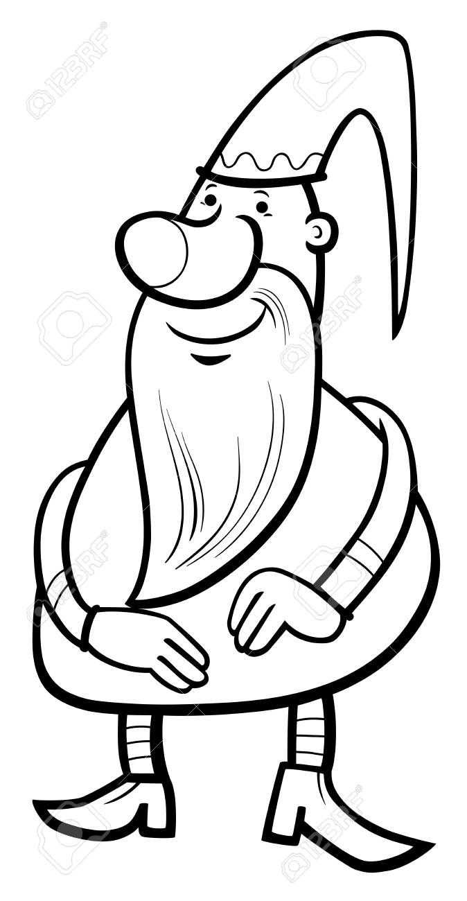 Gnome clipart black and white black and white Gnome Clipart black and white 12 - 674 X 1300 Free Clip Art stock ... black and white