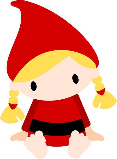 Gnome hat black and white png clipart clipart black and white Gnome Dwarf Clip art - Gnome png download - 500*677 - Free ... clipart black and white