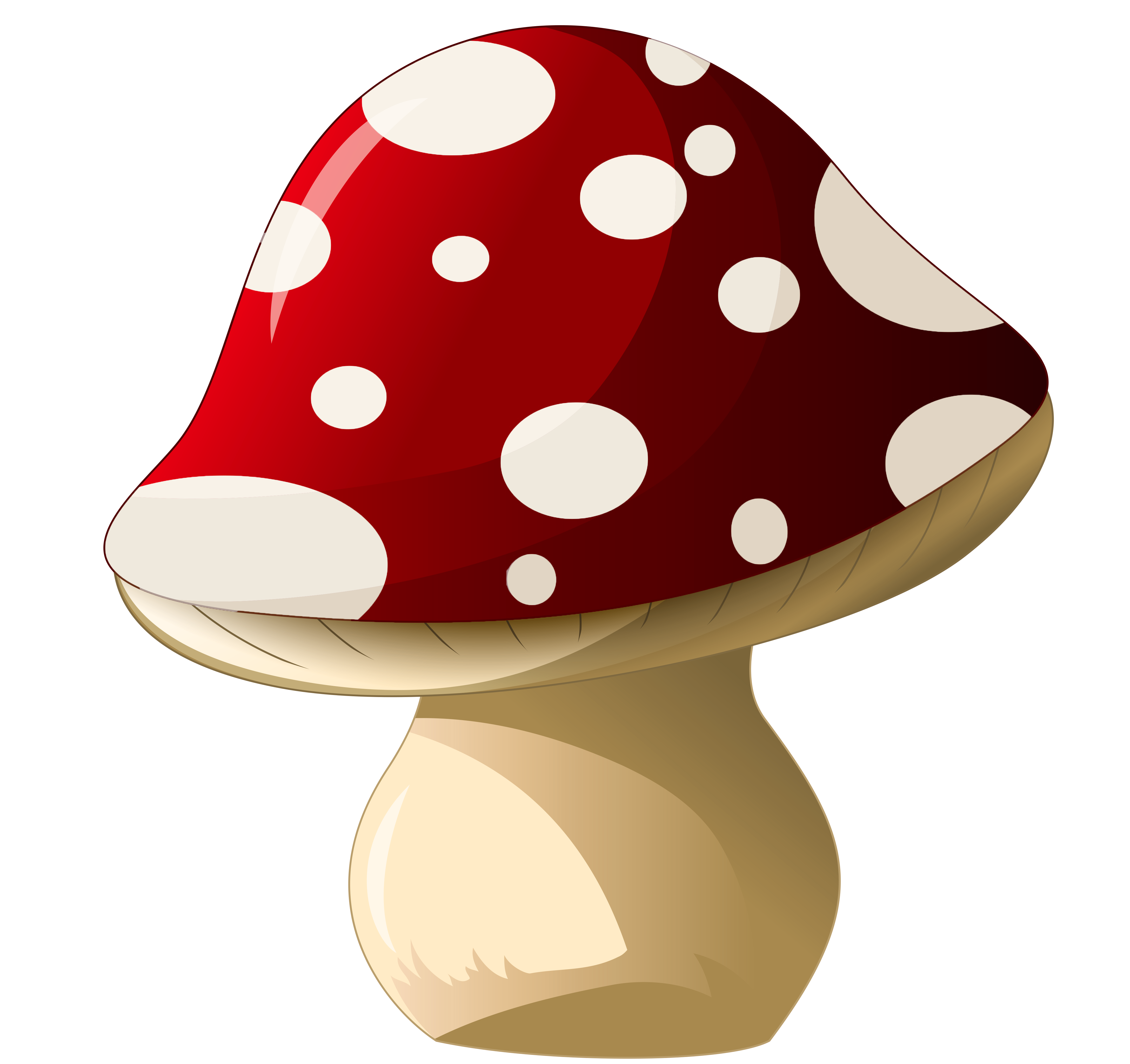 Gnome house clipart png freeuse stock Mushroom_PNG_Clipart_Picture.png (4351×4097)   на СХОДИНИ про гриби ... png freeuse stock