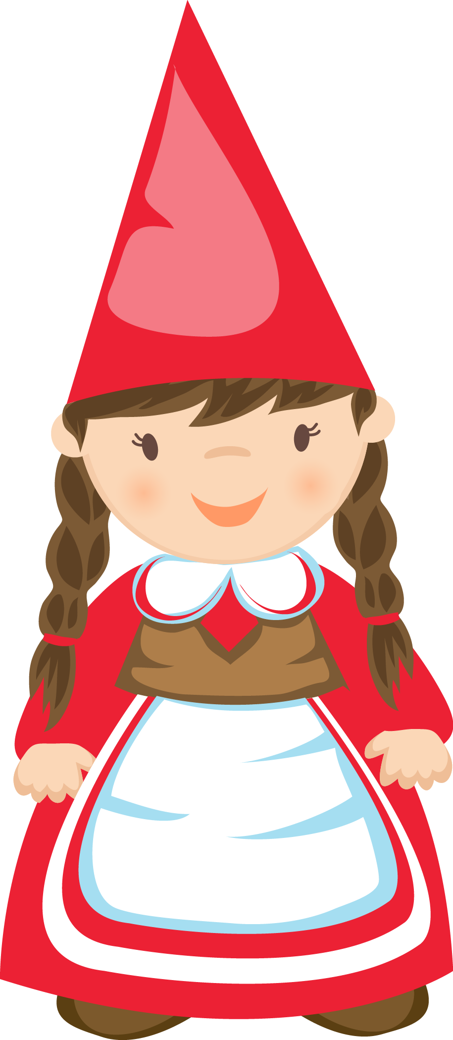 Gnomes clipart image royalty free library GIRL GNOME * | CLIP ART - GNOMES - CLIPART | Gnomes, Drawings, Girl ... image royalty free library