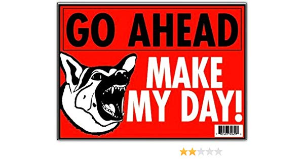 Go ahead make my day clipart image royalty free stock Amazon.com : \