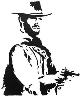 Go ahead make my day clipart jpg Download clint eastwood stencil clipart Stencil Go ahead, make my ... jpg