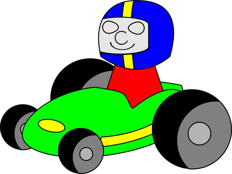 Go cart clipart clip art transparent stock Free Clipart: GoKart | TomBrough clip art transparent stock