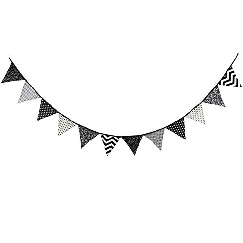 Go flag pendant black & white clipart image free library Black and White Banner: Amazon.com image free library