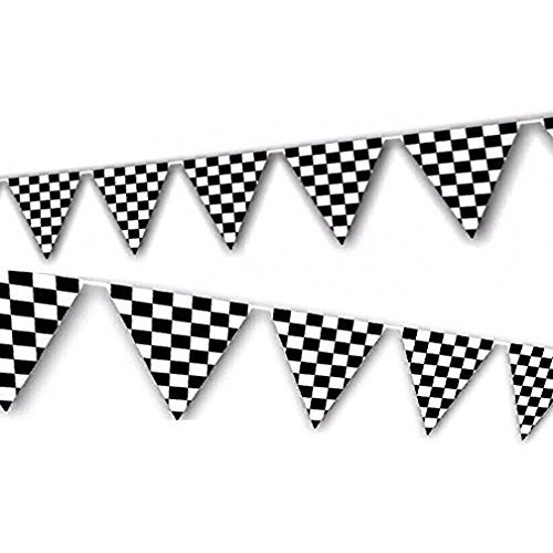 Go flag pendant black & white clipart jpg freeuse Black and White Banner: Amazon.com jpg freeuse
